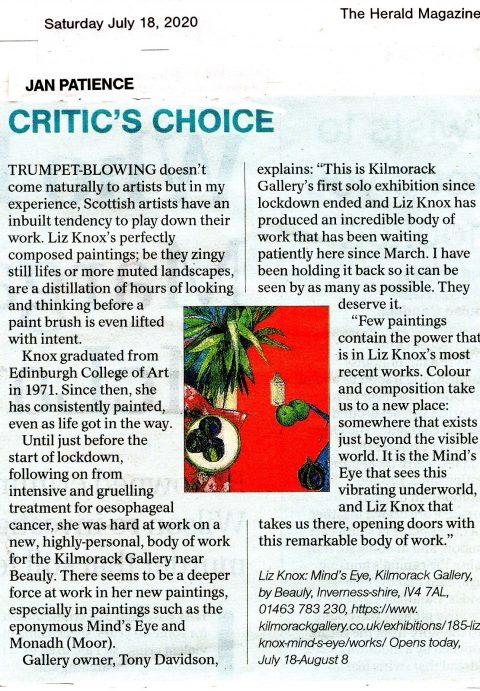 2020 critics choice